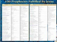 Book cover: '100 Prophecies Fulfilled by Jesus'