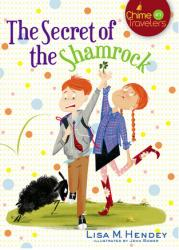 Book cover: 'The Secret of the Shamrock'