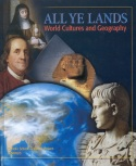 Book cover: 'All Ye Lands: World Cultures and Geography'