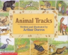 Book cover: 'Animal Tracks'
