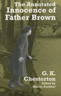Book cover: 'The Annotated Innocence of Father Brown'