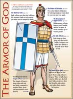 Book cover: 'Armor of God'