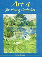 Book cover: 'Art 4 for Young Catholics'