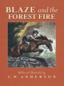 Book cover: 'Blaze and the Forest Fire'
