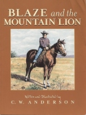 Book cover: 'Blaze and the Mountain Lion'