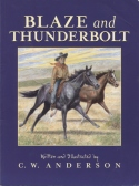 Book cover: 'Blaze and Thunderbolt'