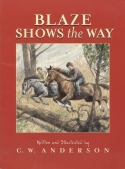 Book cover: 'Blaze Shows the Way'