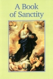 Book cover: 'A Book of Sanctity'