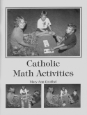 Book cover: 'Catholic Math Activities'