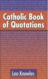 Book cover: 'Catholic Book of Quotations'