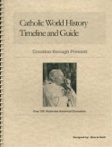 Book cover: 'Catholic World History Timeline and Guide'