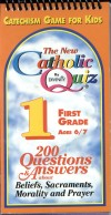 Book cover: 'The New Catholic Quiz: First Grade'