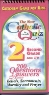 Book cover: 'The New Catholic Quiz: Second Grade'