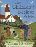 Book cover: 'The Children's Book of Faith'