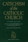 Book cover: 'The Catechism of the Catholic Church: Second Edition'