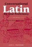 Book cover: 'Conversational Latin for Oral Proficiency: Phrase Book and Dictionary'