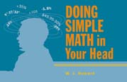 Book cover: 'Doing Simple Math in Your Head'