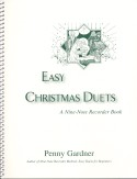 Book cover: 'Easy Christmas Duets: A Nine-Note Recorder Book'