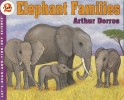 Book cover: 'Elephant Families'