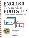 Book cover: 'English from the Roots Up'