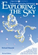 Book cover: 'Exploring the Sky: Projects for Beginning Astronomy'