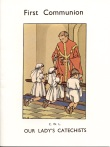 Book cover: 'First Communion'
