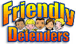 Book cover: 'Friendly Defenders'