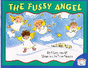 Book cover: 'The Fussy Angel'