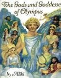 Book cover: 'The Gods and Goddesses of Olympus'