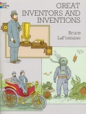 Book cover: 'Great Inventors and Inventions'