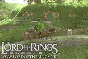 Shot from 'Fellowship of the Ring' movie