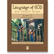 Book cover: 'Language of God for Little Folks (Level C)'