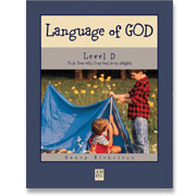 Book cover: 'Language of God for Little Folks (Level D )'