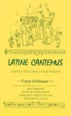 Book cover: 'Latine Cantemus'