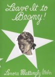 Book cover: 'Leave it to Beany'
