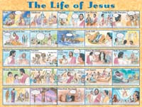 Book cover: 'Life of Jesus'