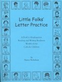 Book cover: 'Little Folk's Letter Practice'