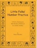 Book cover: 'Little Folks' Number Practice'