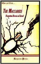 Book cover: 'The Maccabees, Forgotten Heroes of Israel'