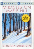 Book cover: 'Miracles on Maple Hill'