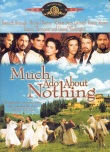 Book cover: 'Much Ado About Nothing'