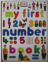Book cover: 'My First Number Book'