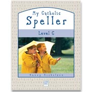 Book cover: 'My Catholic Speller (Level C)'