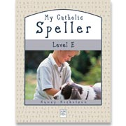 Book cover: 'My Catholic Speller (Level E)'