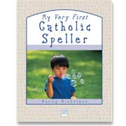 Book cover: 'My Very First Catholic Speller'