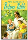 Book cover: 'New Catholic Picture Bible'
