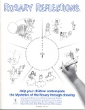 Book cover: 'Rosary Reflections: Help Your Children Contemplate the Mysteries of the Rosary through Drawing'