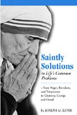 Book cover: 'Saintly Solutions to Life's Common Problems'