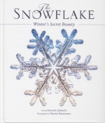 Book cover: 'The Snowflake: Winter's Secret Beauty'