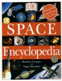 Book cover: 'Space Encyclopedia'